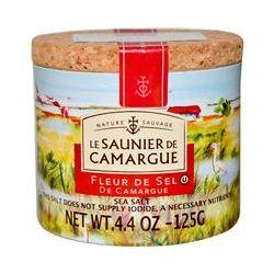 Le Saunier de Camargue, Fleur de Sel, Sea Salt, 4.4 oz (125 g)