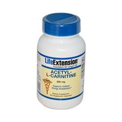Life Extension, Acetyl-L-Carnitine, 500 mg, 100 Veggie Caps