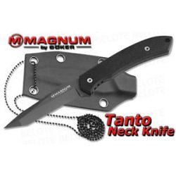Boker Magnum Tanto Neck Knife w Kydex Sheath 02MB1026