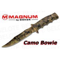 Boker Magnum Camo Bowie w Nylon Sheath 02MB208 New