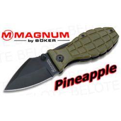 Boker Magnum Pineapple Grenade Folder 01MB050 New