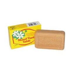Monoi Tiare Tahiti, Coconut Oil Soap, Tiare (Gardenia) Scented, 4.55 oz (130 g)