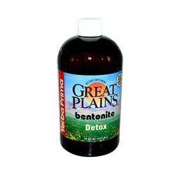 Yerba Prima, Great Plains, Bentonite, Detox, 16 fl oz (473 ml)