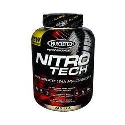 Muscletech, Nitro-Tech, Performance Series, Vanilla, 4 lbs (1.8 kg)