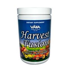 Vaxa International, Harvest Fusion, Fruit and Vegetable Drink Mix, 10.06 oz (285 g)