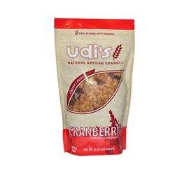 Udi's, Natural Artisan Granola, Cranberry, 13 oz (369 g)