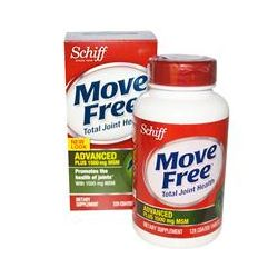 Schiff, Move Free, Advanced, Plus 1500 mg MSM, 120 Coated Tablets