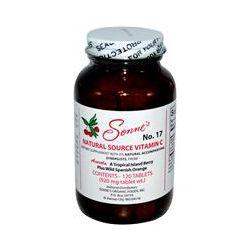 Sonne's, No.17, Natural Source Vitamin C, 920 mg, 120 Tablets