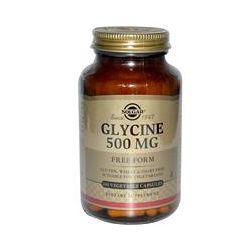 Solgar, Glycine, 500 mg, 100 Veggie Caps