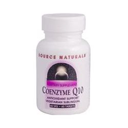Source Naturals, Coenzyme Q10, 60 mg, 60 Tablets
