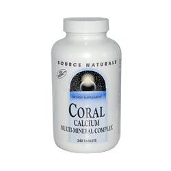 Source Naturals, Coral Calcium, Multi-Mineral Complex, 240 Tablets