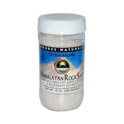 Source Naturals, Crystal Balance, Himalayan Rock Salt, Course Grind, 12 oz (340 g)