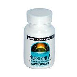 Source Naturals, Huperzine A, 200 mcg, 120 Tablets