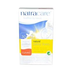 Natracare, Natural Panty Liners, 30 Curved Panty Liners