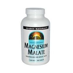 Source Naturals, Magnesium Malate, 180 Tablets