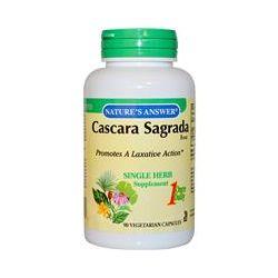 Nature's Answer, Cascara Sagrada Bark, 90 Veggie Caps