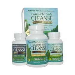 Nature's Plus, Complete Body Cleanse, 14 Day Program, 3-Part System, 140 Capsules