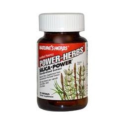 Nature's Herbs, Power-Herbs, Silica-Power, 60 Capsules