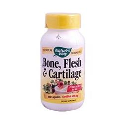 Nature's Way, Bone, Flesh & Cartilage, 480 mg, 100 Capsules
