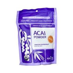 Navitas Naturals, Açai Power, Freeze-Dried Açai Powder, 8 oz (227 g)