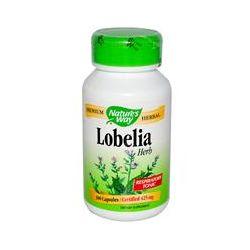 Nature's Way, Lobelia Herb, 425 mg, 100 Capsules