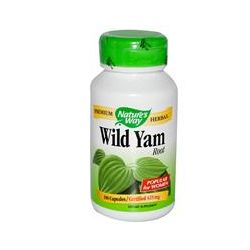 Nature's Way, Wild Yam, Root, 100 Capsules