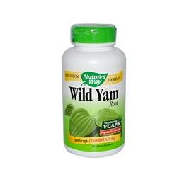 Nature's Way, Wild Yam, Root, 180 Vcaps