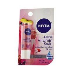 Nivea, A Kiss of Vitamin Swirl, Wild Apple & Acai Berry, 0.17 oz (4.8 g)