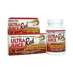 Nature's Plus, Ultra Juice Red, Multinutrient Supplement, 90 Bi-Layered Tablets