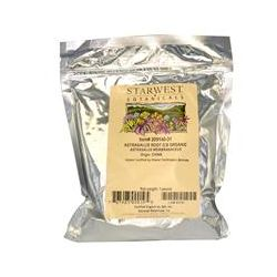 Starwest Botanicals, Organic Astragalus Root, Cut & Sifted, 1 lb
