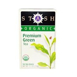 Stash Tea Company, Organic, Premium Green Tea, 18 Tea Bags, 1.1 oz (33 g)