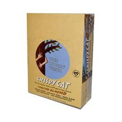 NuGo Nutrition, Tree Huggin' Treats, Crispy Cat, Toasted Almond, 12 Bars, 1.76 oz (50 g) Each
