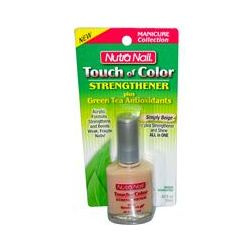 Nutra Nail, Touch of Color, Strengthener, Simply Beige, .50 fl oz (15 ml)