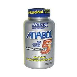 Nutrex Research Labs, Anabol-5, Anabolic Amplifier, 120 Liquid Capsules