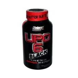 Nutrex Research Labs, Lipo 6 Black, Underground Fat Destroyer, 120 Black-Caps