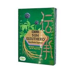 Sun Chlorella, Wild Sun Eleuthero, 200 mg Each, 300 Tablets