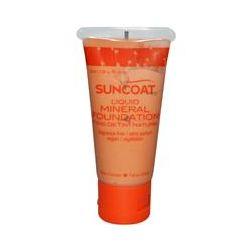 Suncoat, Liquid Mineral Foundation, Ivory, Fragrance-Free, 1.0 fl oz (30 ml)