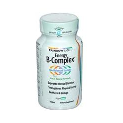 Rainbow Light, Energy B-Complex, Food-Based Formula, 45 Tablets
