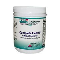 Nutricology, Complete Heart ll without Hormones, 300 g (10.6 oz)
