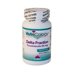 Nutricology, Delta-Fraction Tocotrienols, 50 mg, 75 Softgels