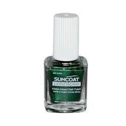 Suncoat, Polish & Peel, Water-Based Nail Polish, Greenista, 0.27 oz (8 ml)