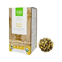 Rishi Tea, Organic Pu-erh Ginger, Loose Leaf Tea, 3 oz (85 g)