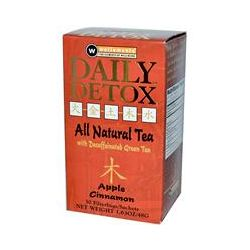Rooney CV, Daily Detox, All Natural Tea, Apple Cinnamon, 30 Filterbags, 1.63 oz (48 g)
