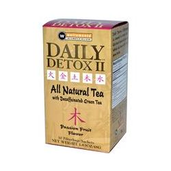 Rooney CV, Daily Detox II, All Natural Tea, Passion Fruit Flavor, 30 Filterbags, 1.63 oz (48 g)