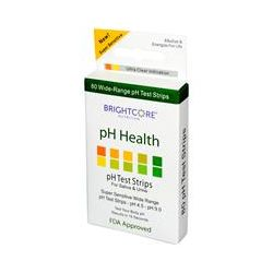 Sweet Wheat, pH Health, pH Test Strips for Saliva & Urine, 80 Strips