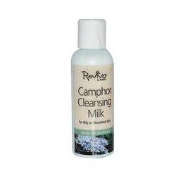 Reviva Labs, Camphor Cleansing Milk for Oily or Blemished Skin, 4 fl oz (118 ml)