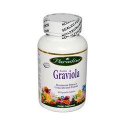 Paradise Herbs, Brazilian Graviola, 60 Veggie Caps