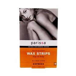 Parissa, Quick & Easy Wax Strips, Legs & Body, 16 (8 Two-Sided) Strips