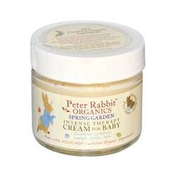 Peter Rabbit-Organic Baby Spring Garden, Intense Therapy Cream for Baby, Fragrance Free, 2 oz (56.7 g)