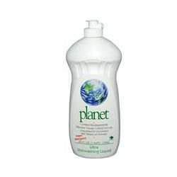 Planet Inc., Ultra Dishwashing Liquid, Unscented, 25 fl oz (739 ml)